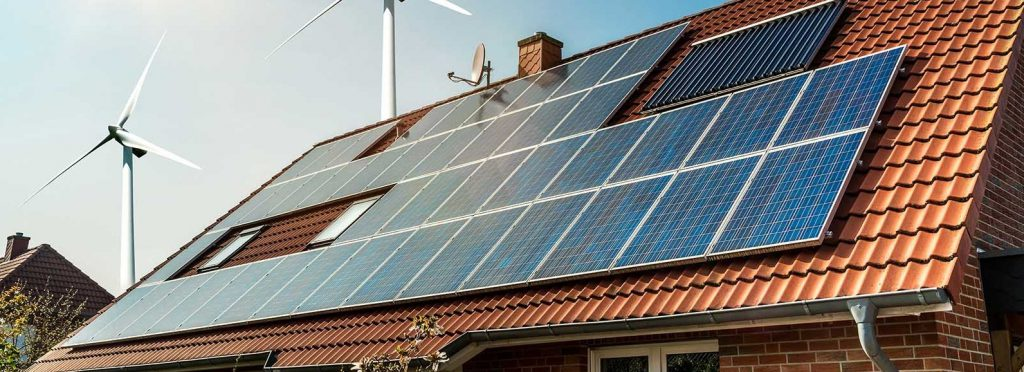 solar-panel-on-roof-house-wind