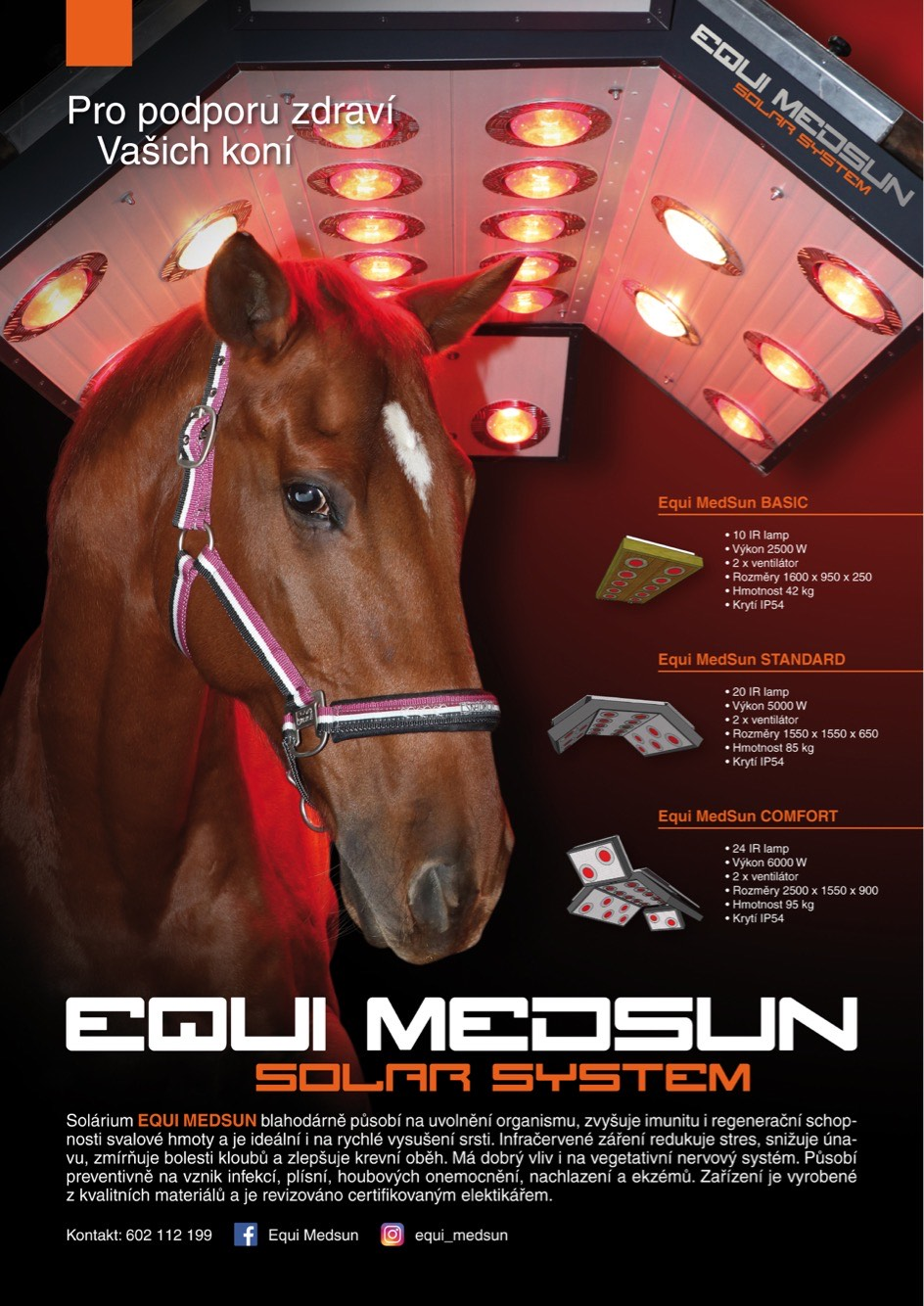 solárium pro koně EQUI MEDSUN